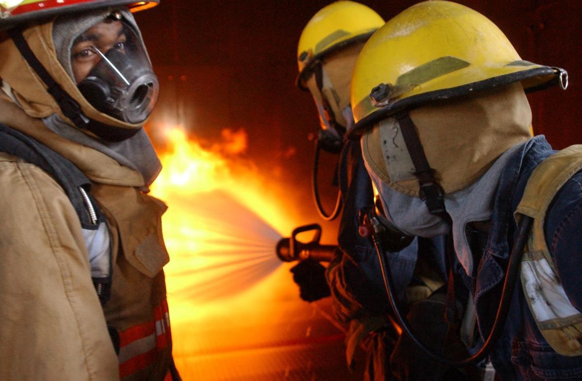 Controlled danger equipment fire