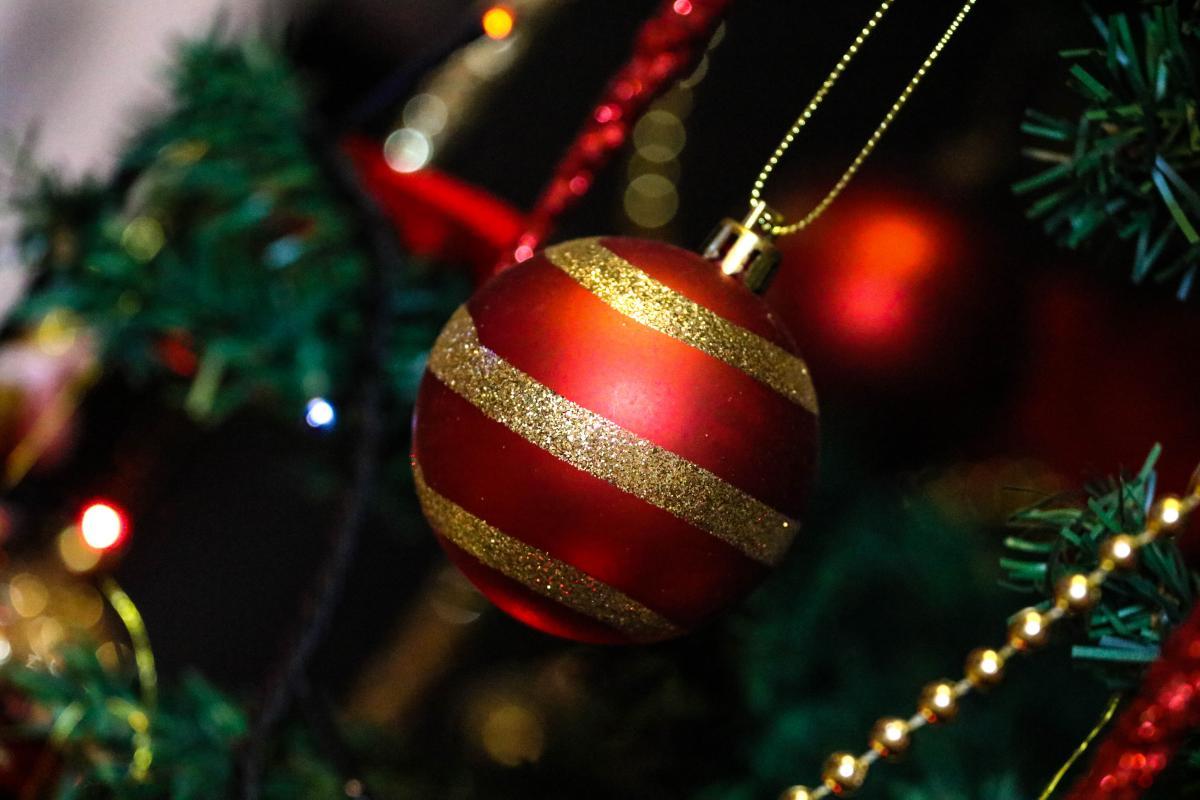 Christmas christmas ball christmas tree