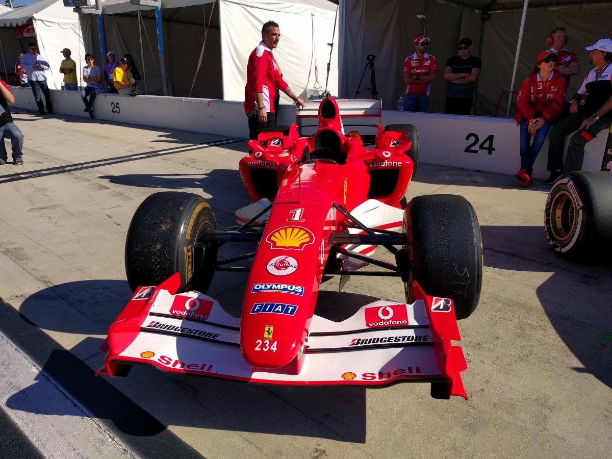 Ferrari finali mondiali daytona f1 pits #90151