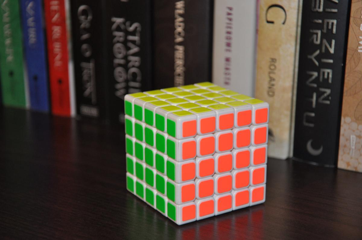 Book cube 5x5x5