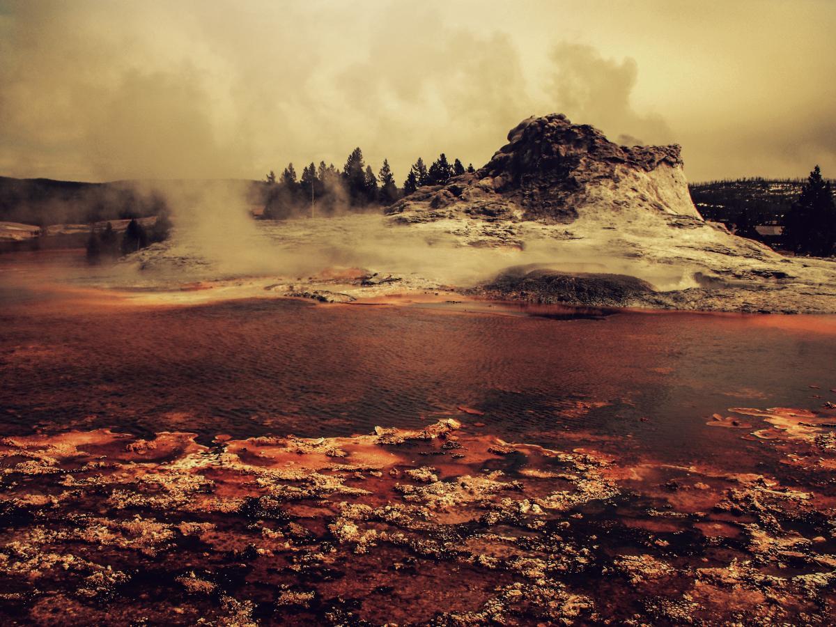 Dawn dusk environment eruption #91551