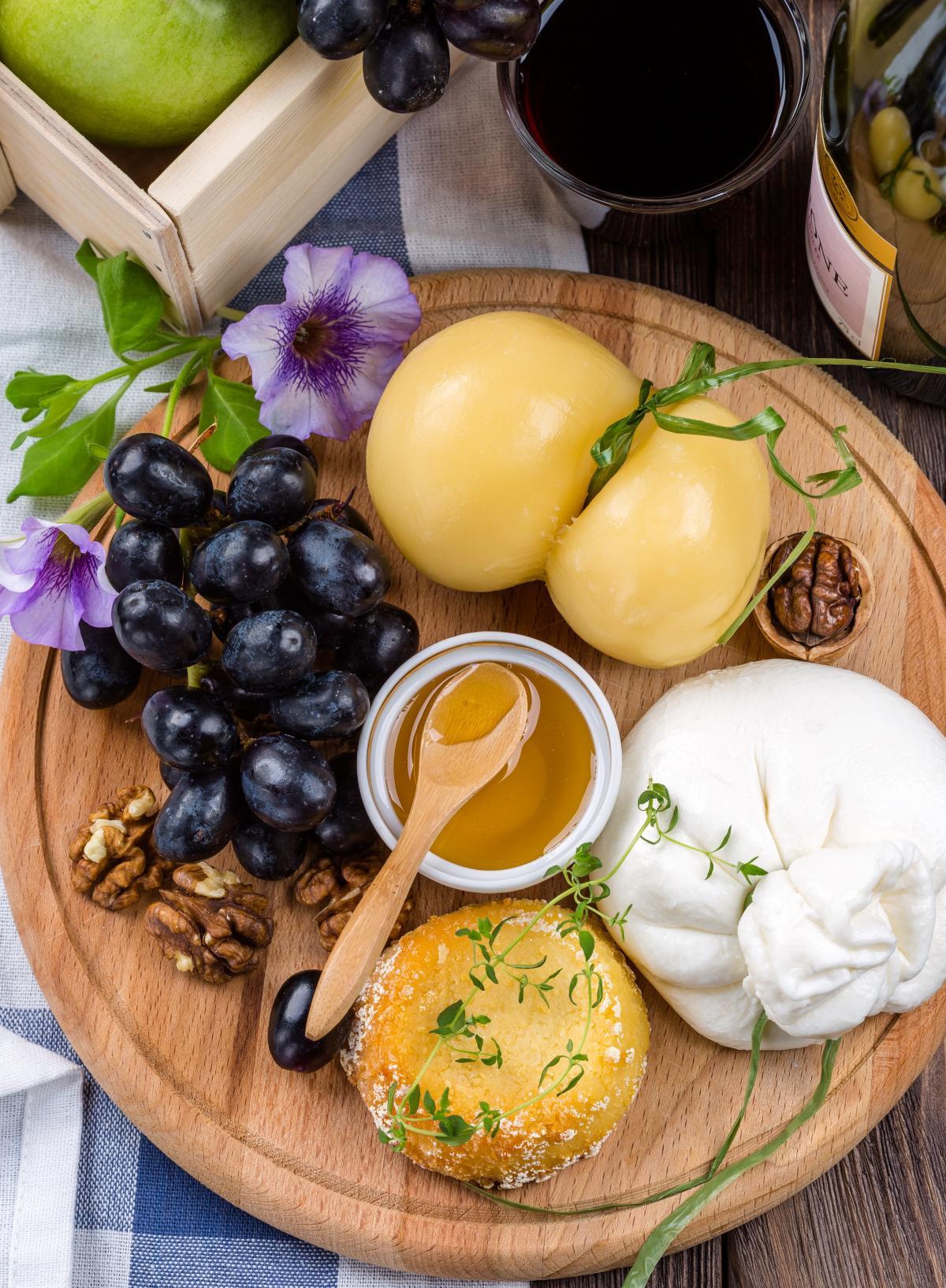 Vorspeise Burrata Käseplatte #92256