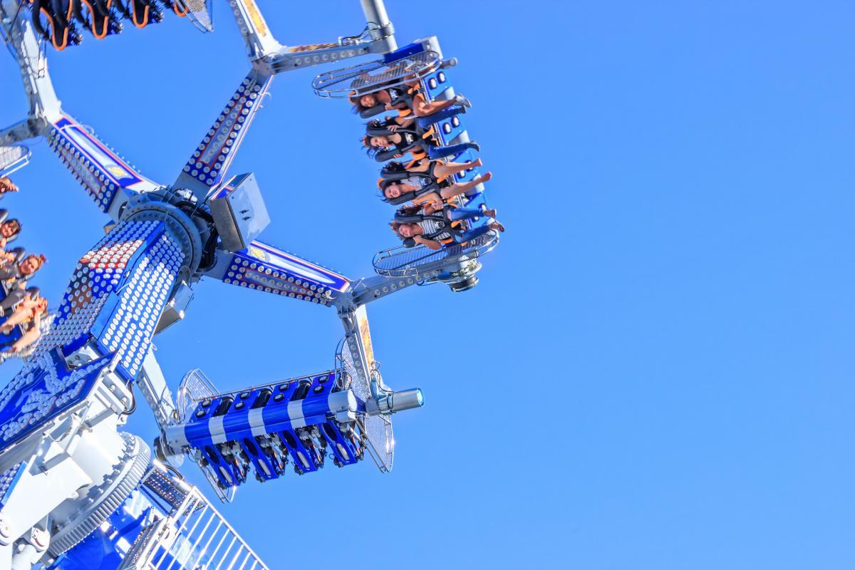Ferris wheel geneve joy summer #94822