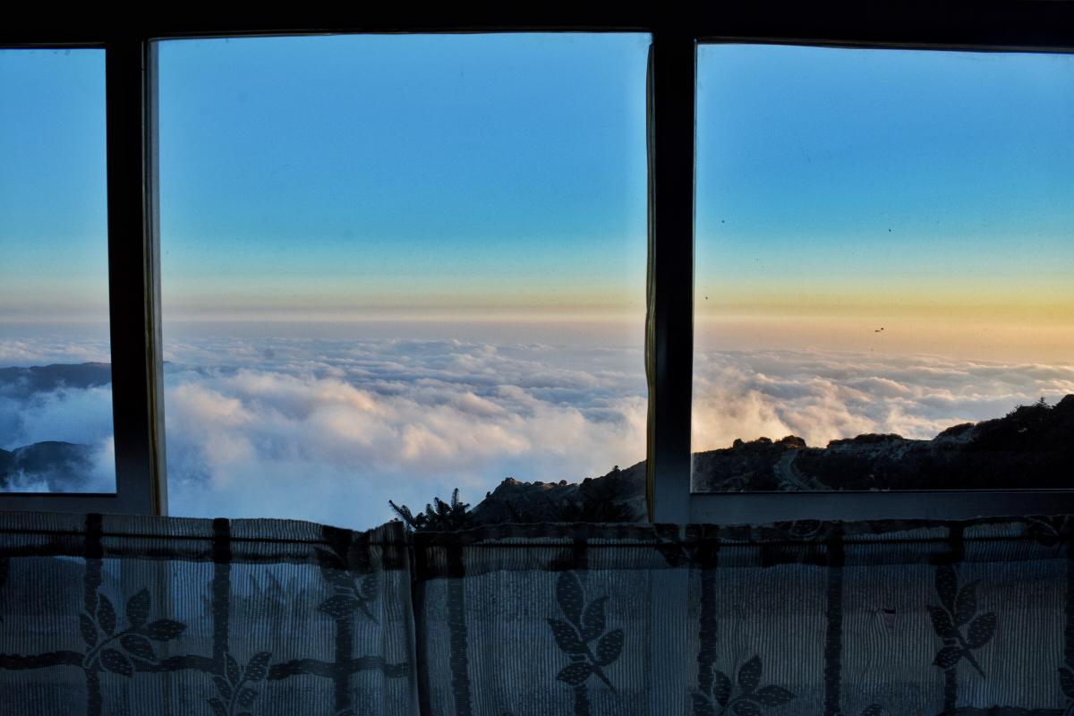 Балкон окна небо