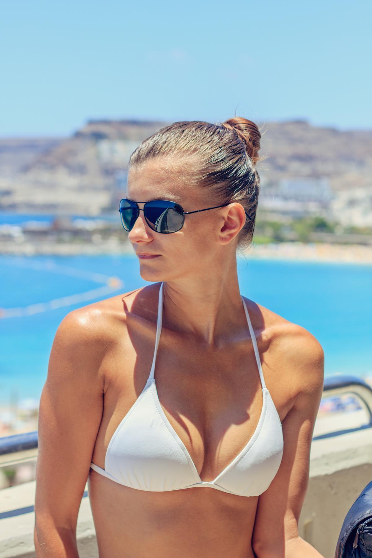 Free beach bikini photographs sorry, does