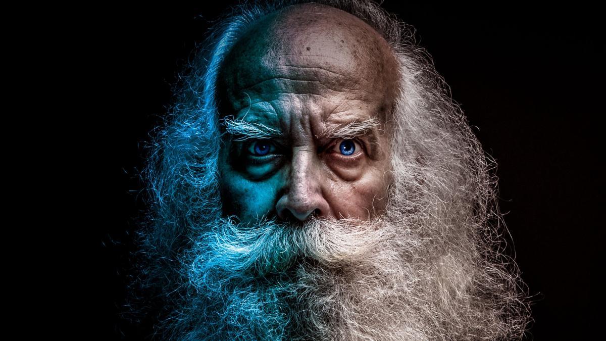 Beard texture the old man #98933
