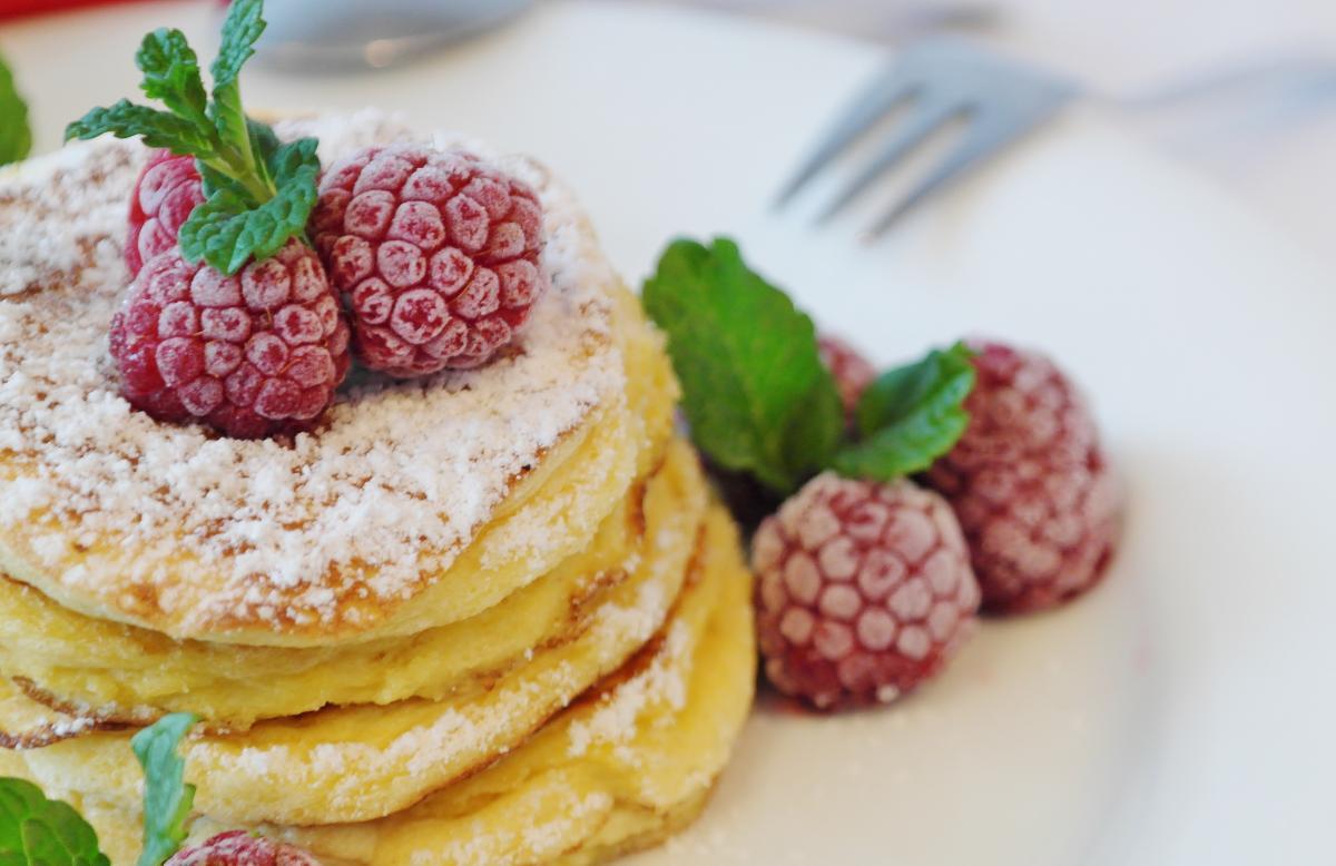 оладьи малина десерт бесплатно