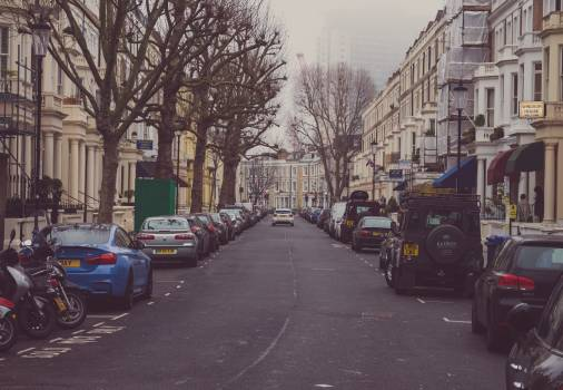 Cars houses kensington road #100068