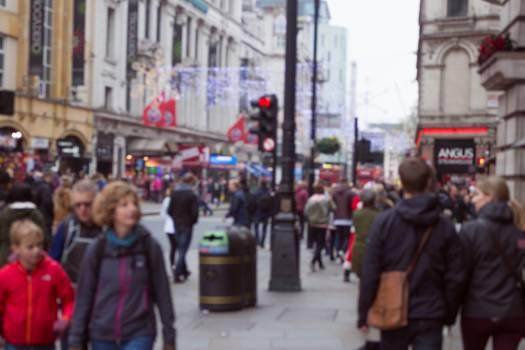Blurred lodnon people people in london #100073