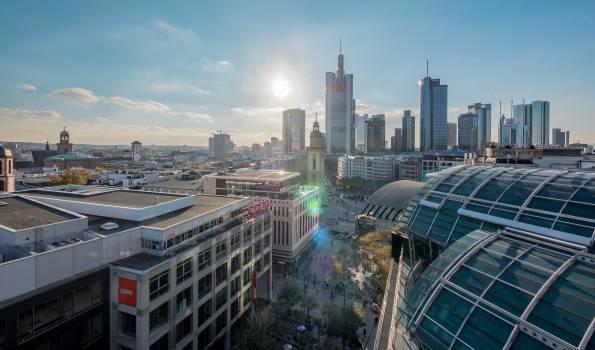 Frankfurt hauptwache skyline zeil #100081