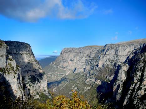 Altitude canyon greece vikou #100224