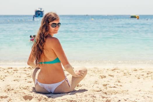 Beach bikini female summer #100238