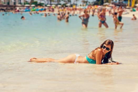 Beach bikini female sexy #100239