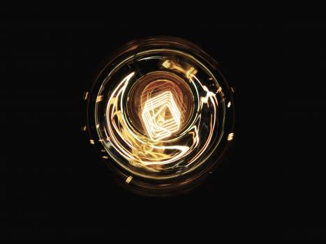 Dark electricity lamp light #100256