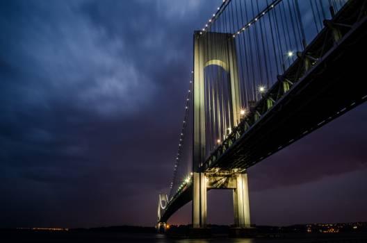 Bridge Structure Suspension bridge #100379