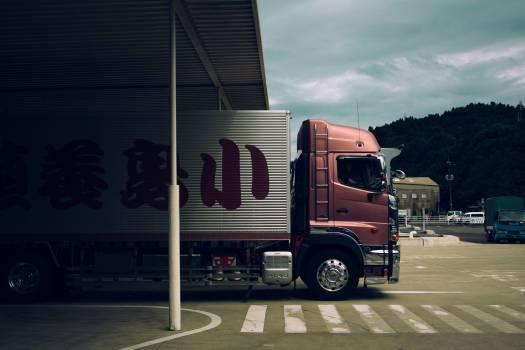 Truck Trailer Trailer truck #10120
