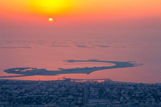 Sunset Sun Sky #10180