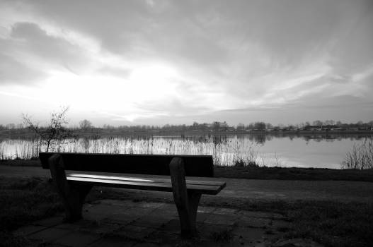 Bench Park bench Seat #103666