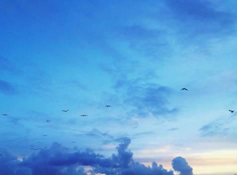 Sky Atmosphere Clouds #104060
