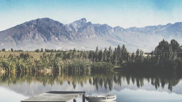 Landscape Mountain Water #104355