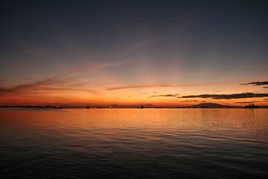 Sunset Sun Sea #105198