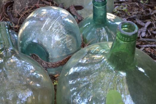 Bottle Glass Pop bottle #105989