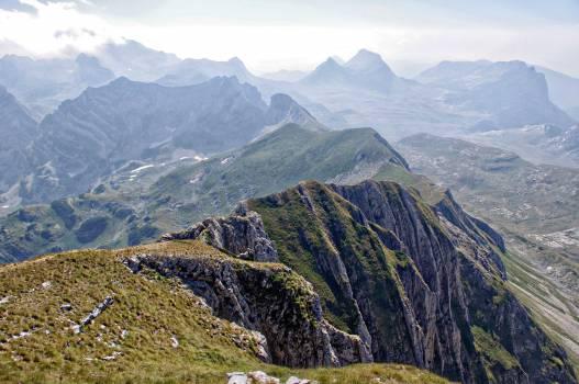 Mountain Valley Landscape #10825