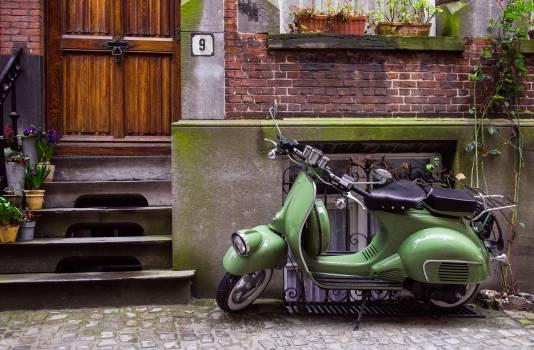 Motor scooter Wheeled vehicle Vehicle #10913