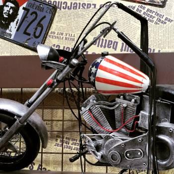 Motorcycle Bicycle Transportation Free Photo