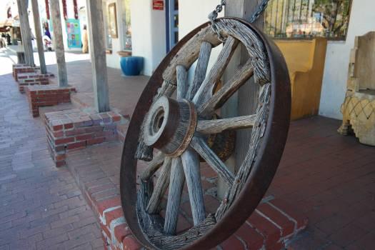 Wheel Boundary Metal Free Photo