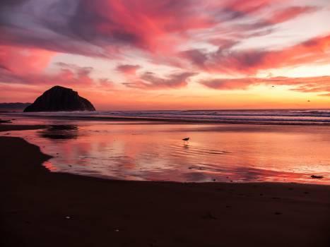 Sunset Sun Beach #11007