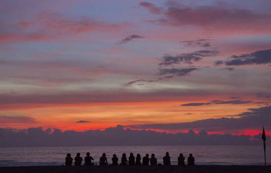 Sunset Sky Sun #11202