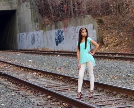 Track Railroad Railway Free Photo