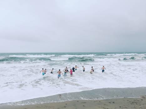 Beach Sand Ocean #112734
