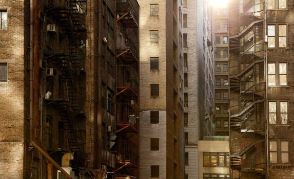 Street Building City #11327