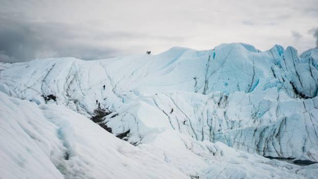 Glacier Ice Snow Free Photo
