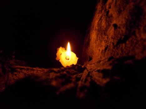 Candle Cord Source of illumination Free Photo