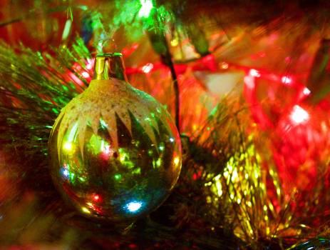 Christmas Bangle Decoration Free Photo