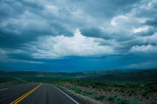 Sky Road Landscape Free Photo