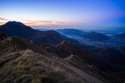 Mountain Range Landscape #11838