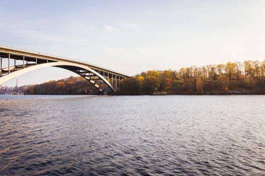 Bridge Steel arch bridge Structure #11853