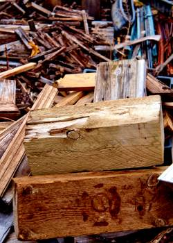 Wood Thatch Crate Free Photo