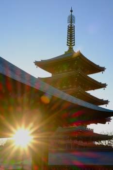Stupa Shrine Building #120595