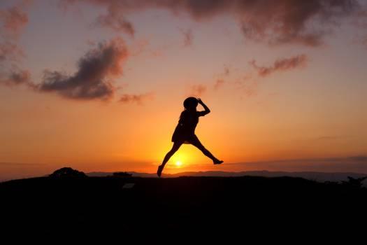 Sky Sunset Freedom Free Photo