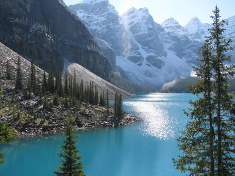Mountain Glacier Lake #121761