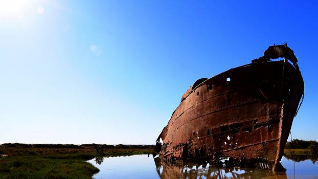 Wreck Ship Water #12191