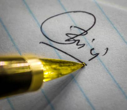 Fountain pen Pen Writing implement #122286