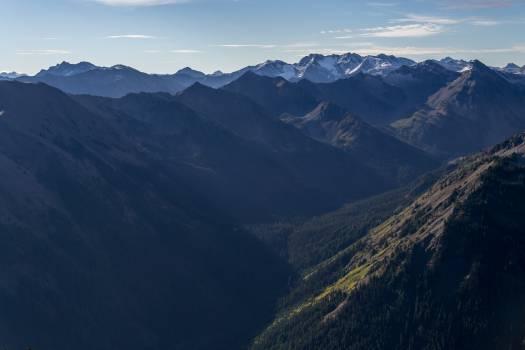 Mountain Range Valley #12380