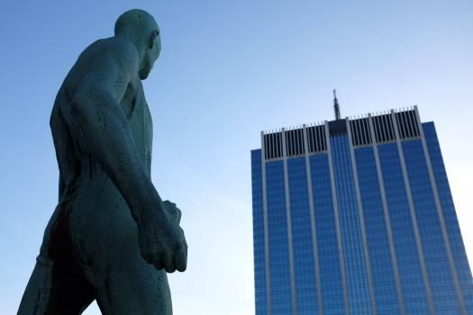 Statue Sky Architecture #12411