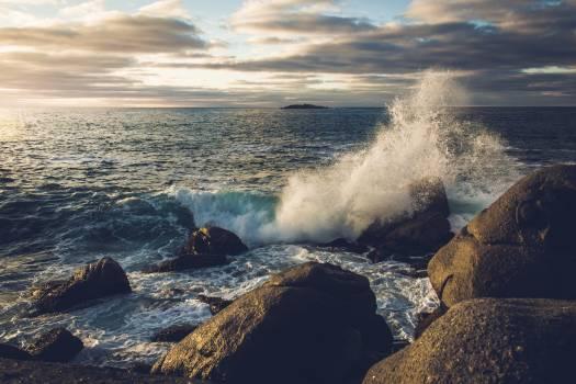 Ocean Body of water Sea Free Photo